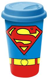 Superman Ceramic Travel Mug image