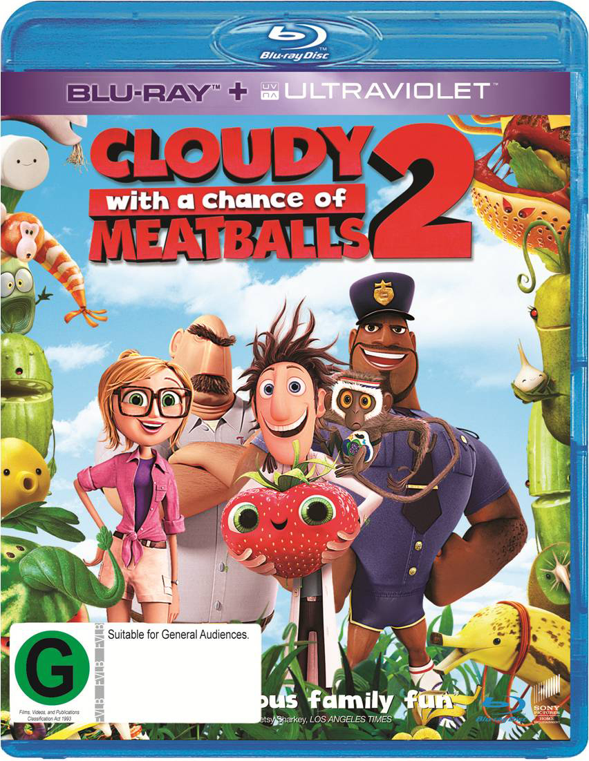 Cloudy with a Chance of Meatballs 2 on Blu-ray image
