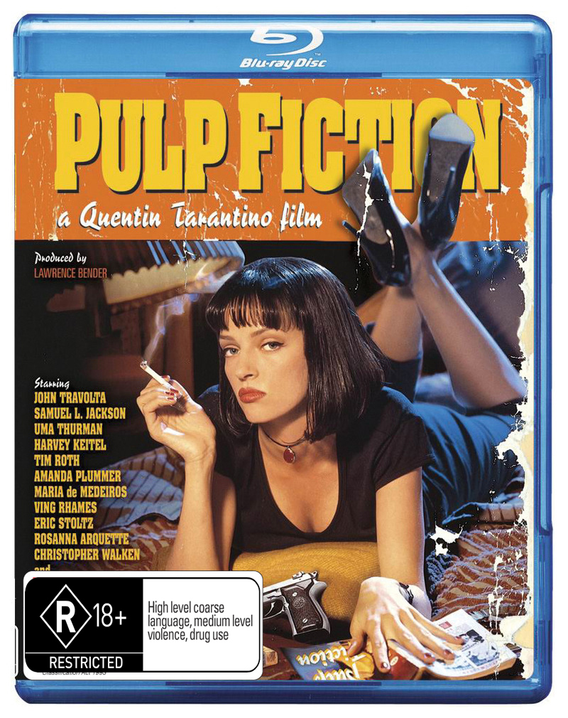 Pulp Fiction on Blu-ray image