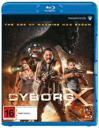 Cyborg X on Blu-ray