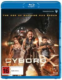 Cyborg X on Blu-ray