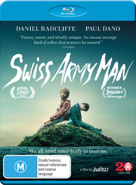 Swiss Army Man on Blu-ray