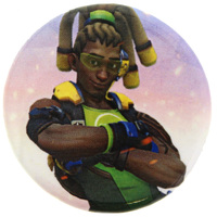 Overwatch Lucio Button