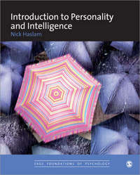 Introduction to Personality and Intelligence by Nick Haslam image