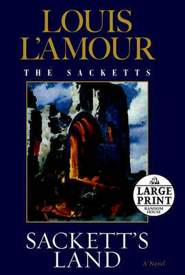 Lge Pri Sackett's Land by Louis L'Amour