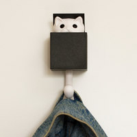 Kitt-a-Boo - Wall Hook - (Black)