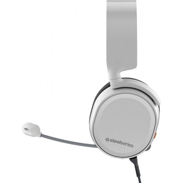 SteelSeries Arctis 3 Wired Gaming Headset (White) for PC image