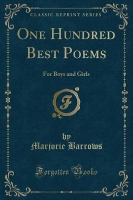 One Hundred Best Poems by Marjorie Barrows image