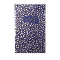 Alice Pleasance Wonderland: A5 Notebook - Navy
