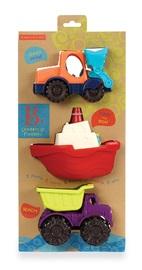 B. Mini Vehicles - 3-Piece Set