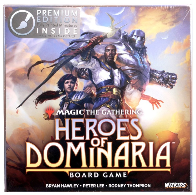 Magic The Gathering: Heroes of Dominaria - Board Game [Premium]