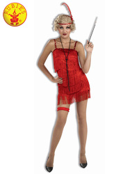 Rubie's:Flapper Deluxe Red Costume (Large)