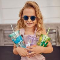 Sunnylife Kids Glitter Tumbler - Wonderland