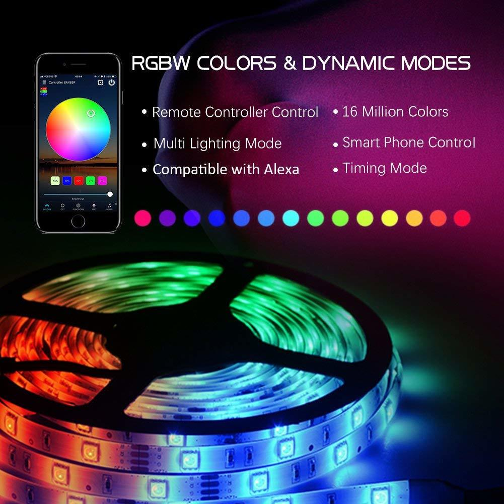 WiFi Wireless Smart Phone Controlled Light Strip - 5 Meters image