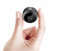 Wireless Mini Security Camera Wide Angle HD 1080P image
