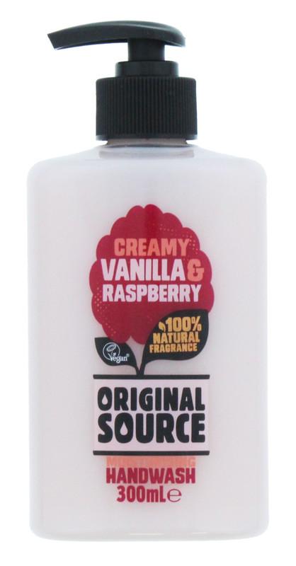 Original Source: Hand Wash Vanilla & Raspberry (300 ml)