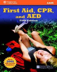 First Aid CPR and AED by American Academy of Orthopaedic Surgeons (AAOS) image