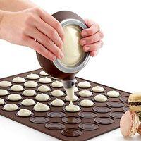Non-Stick Macaron Silicone Baking Mould Mat