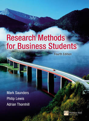 Research Methods for Business Students by Mark N.K. Saunders image