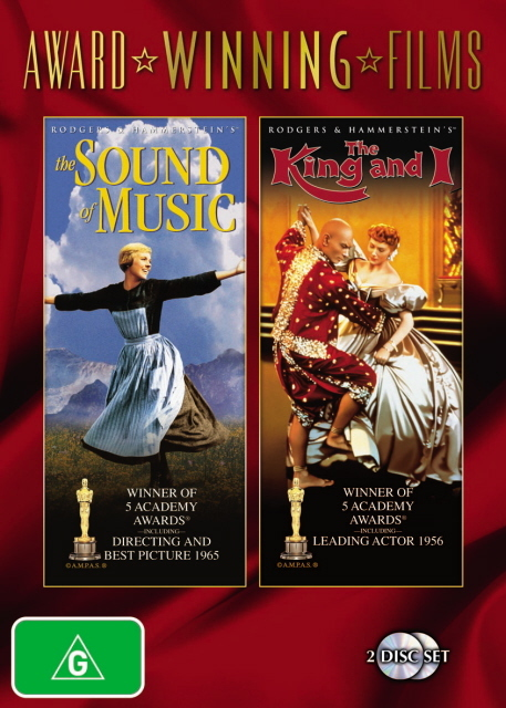 Sound Of Music, The / The King And I (1956) (Award Winning Films) (2 Disc Set) on DVD