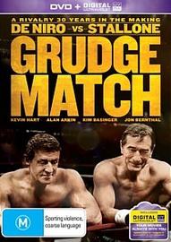 Grudge Match on DVD