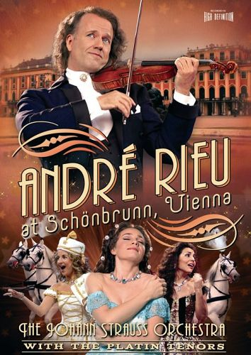 Andre Rieu - At Schonbrunn, Vienna on DVD image