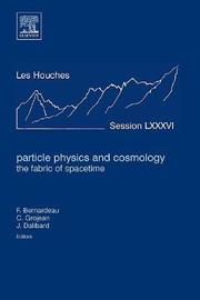 Particle Physics and Cosmology: the Fabric of Spacetime: Volume 86