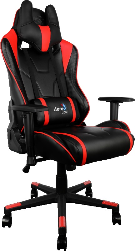 Aerocool: AC220 Series Gaming Chair - Black/Red for