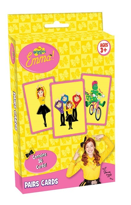 The Wiggles: Emma Pairs - Card Game