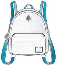 Loungefly: Frozen Reversible Sequin Mini Backpack - Elsa