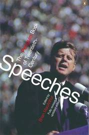 The Penguin Book of Modern Speeches by Brian MacArthur image