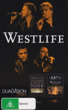 Westlife - DualVision (The Number Ones Tour / Live at Wembley) (2 Disc Set) on DVD