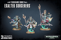 Warhammer 40,000 Thousand Sons Exalted Sorcerers