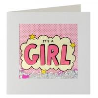 Girl Shakies Card