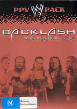 WWE - Backlash: PPV Pack (4 Disc Box Set) on DVD