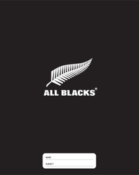 All Blacks: Officially Licensed - A4 Slip-on Book Cover