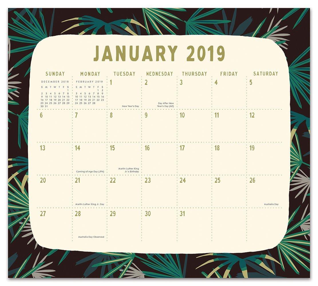 Justina Blakeney: Botanicals 2019 Magnetic Monthly Planner image