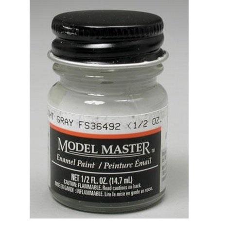 Testors: Enamel Paint - Light Gray (Flat)