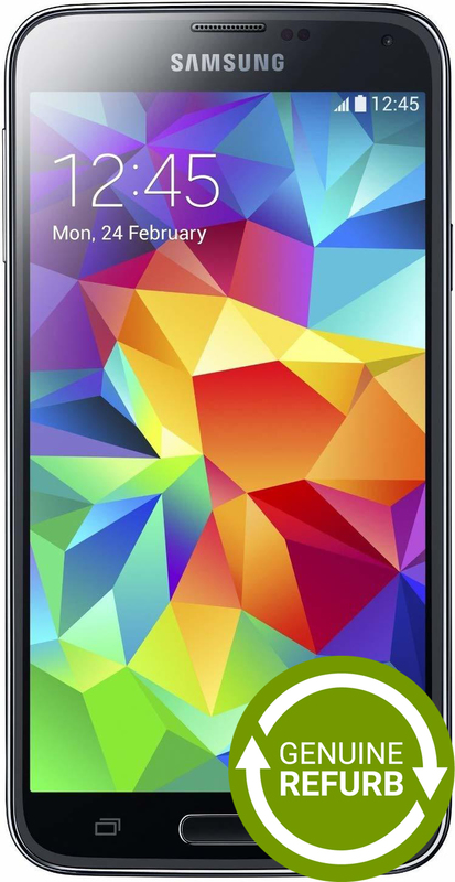 Samsung Galaxy S5 - 16GB - (Black) [Genuine Refurbished]