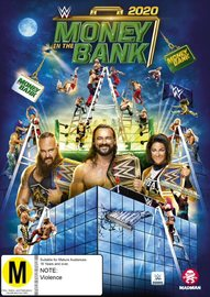 WWE: Money In The Bank - 2020 on DVD image
