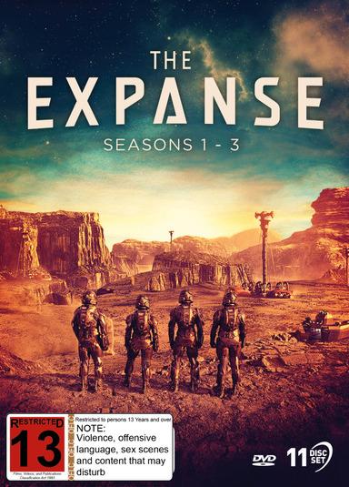 The Expanse: Seasons 1 - 3 on DVD