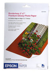 """Epson S041464 Premium Glossy Photo Paper  (5"""" x 7"""") 20 Pack"""