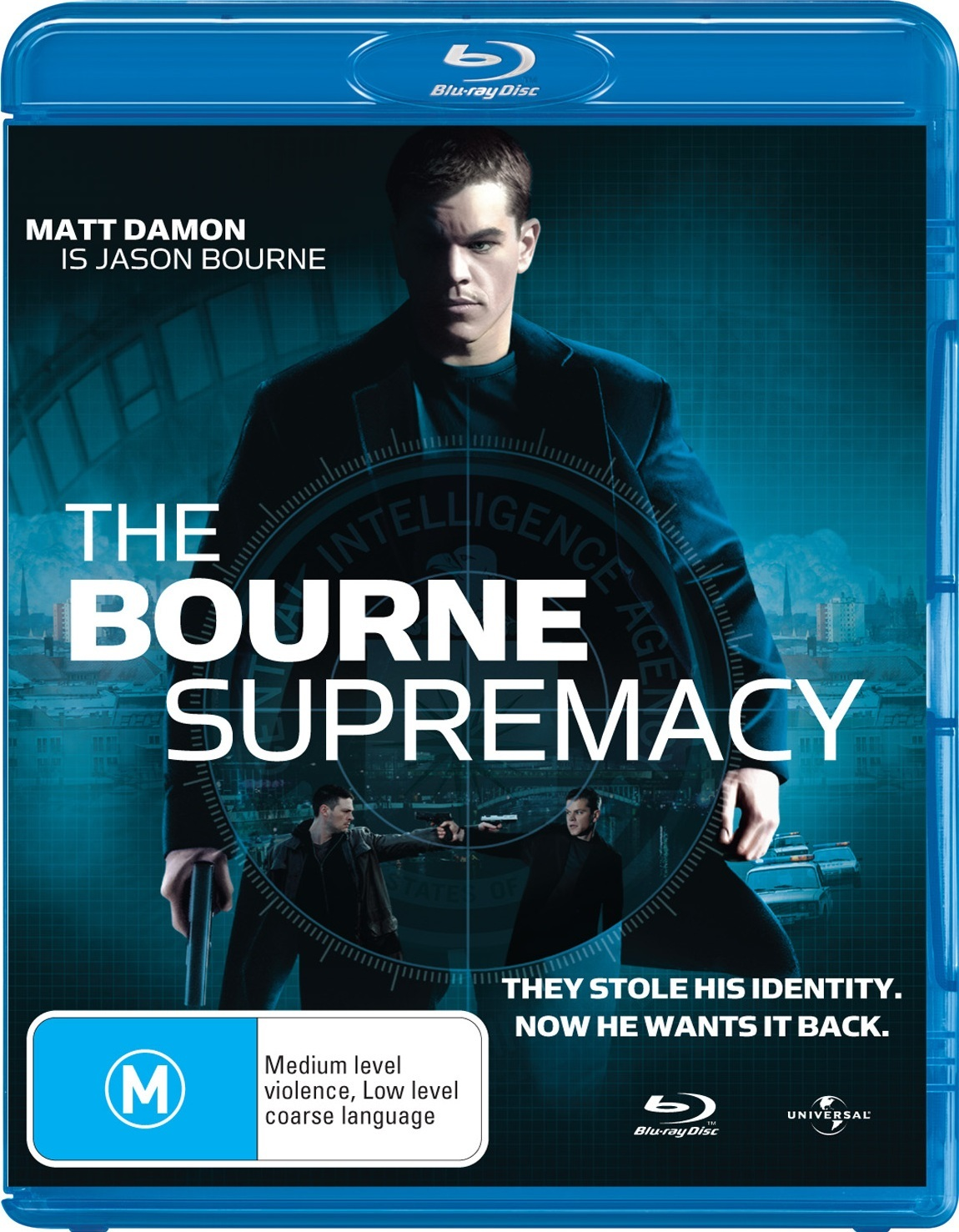 The Bourne Supremacy on Blu-ray image