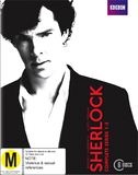 Sherlock - The Complete First, Second & Third Seasons on Blu-ray