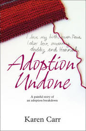 Adoption Undone by Karen Carr image