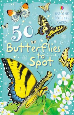 50 Butterflies to Spot by Fiona Patchett image