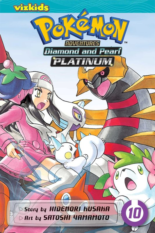 Pokemon Adventures: Diamond and Pearl/Platinum, Vol. 10 by Hidenori Kusaka