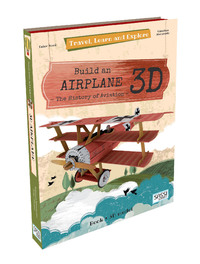 Sassi: Travel Learn and Explore 3D Puzzle - Airplane by Valentina Manuzzato image