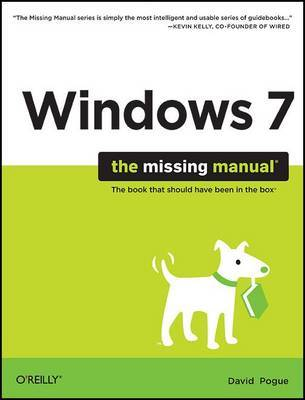 Windows 7: The Missing Manual by David Pogue image