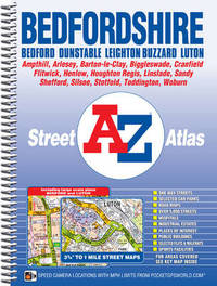 Bedfordshire County Atlas by Geographers A-Z Map Company